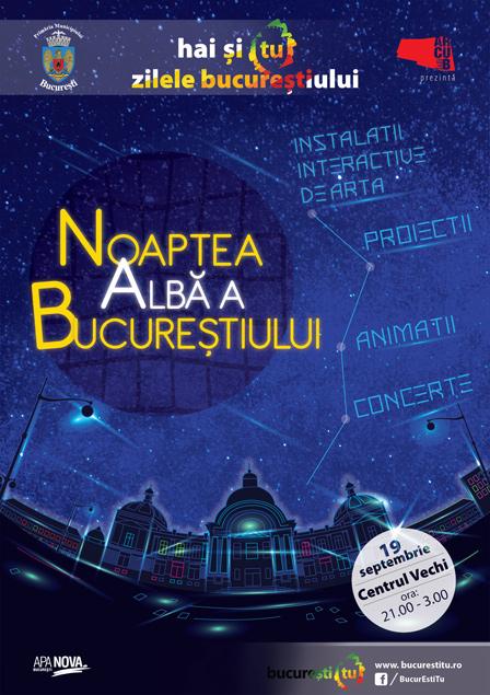 Centrul Istoric, Noaptea Alba a Bucurestiului – Instalatii interactive