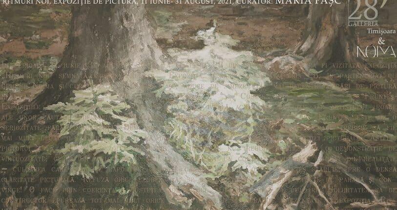 Ritmuri noi - Expoziție de pictură | Cosmin Frunteș la Galleria 28 Vila de Arte
